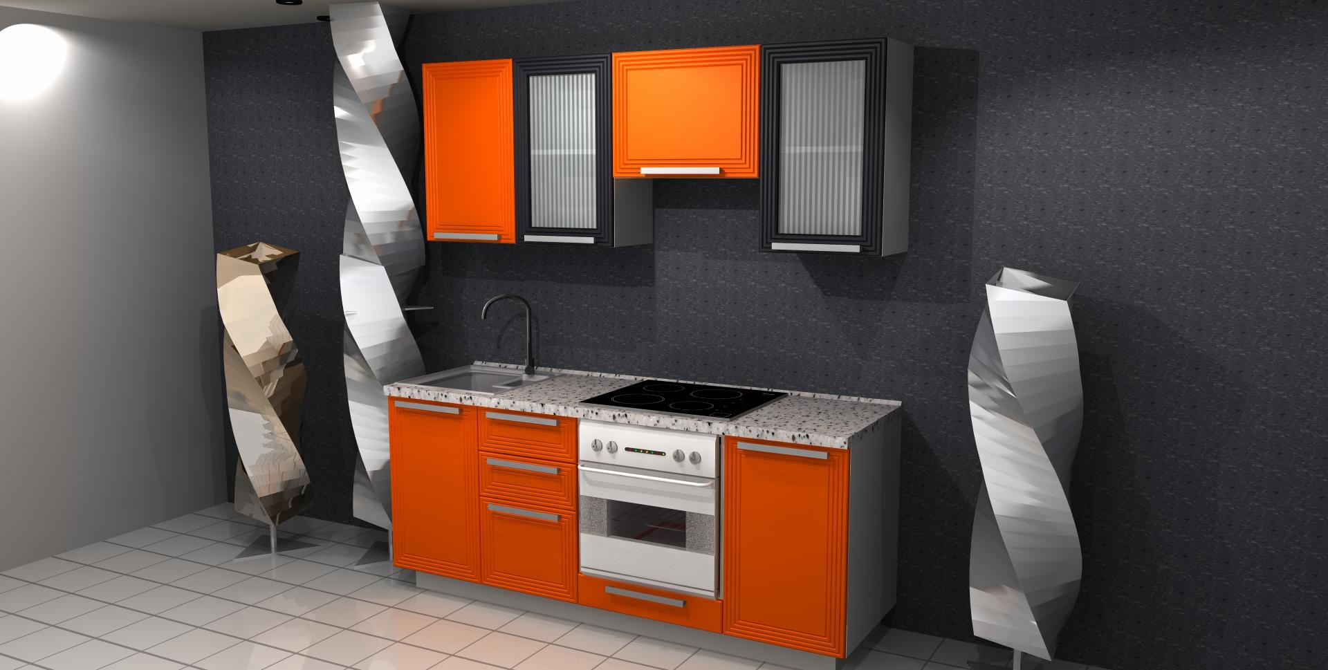 Дизайн кухни длина 3 метра
